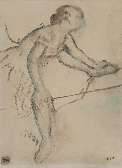 Edgar Degas, 'Danseuse assise', ca. 1899