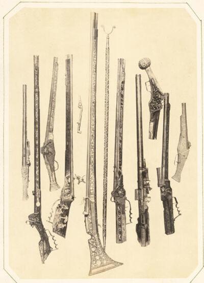 Andreas Groll, 'Gewehrkolben (Pistols and Guns)', 1857/1857