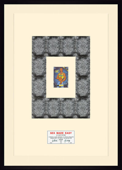 Gilbert and George, 'Sex made easy', 2009