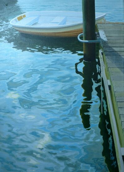 Patrick Kirwin, 'Sunlight on Water with Boat'