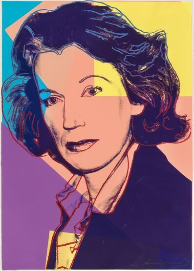 Andy Warhol, 'Mildred Scheel', 1980
