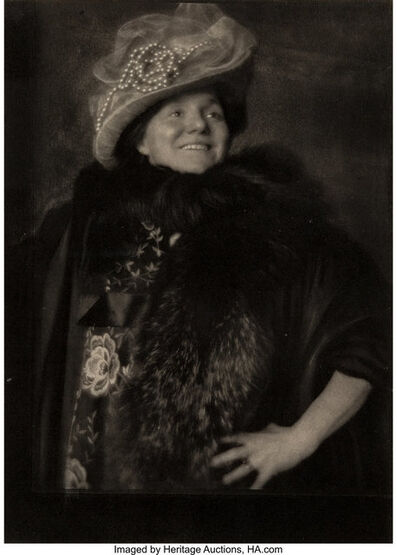 Edward Steichen, 'Vitality - Yvette Guilbert, Camera Work 34-35', 1911-printed in 1913