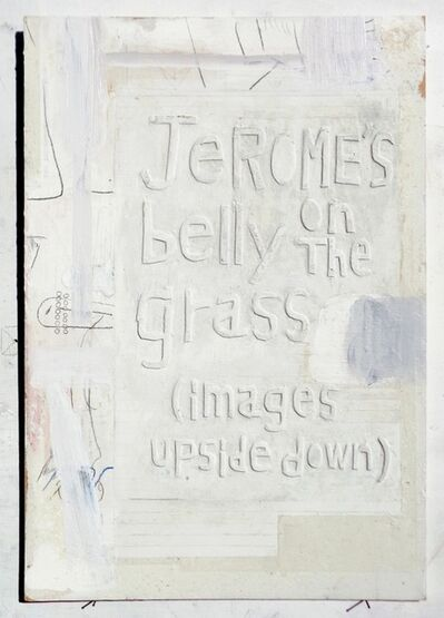 Moe Yoshida Veggetti, 'Jerome's belly on the grass(images upside down)', 2018