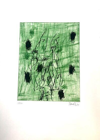 Georg Baselitz, 'Zwei Fäuste (Two Fists)', 1990