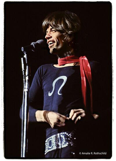 Amalie R. Rothschild, Jr., 'Mick Jagger at Madison Square Garden, November 27, 1969', 1969