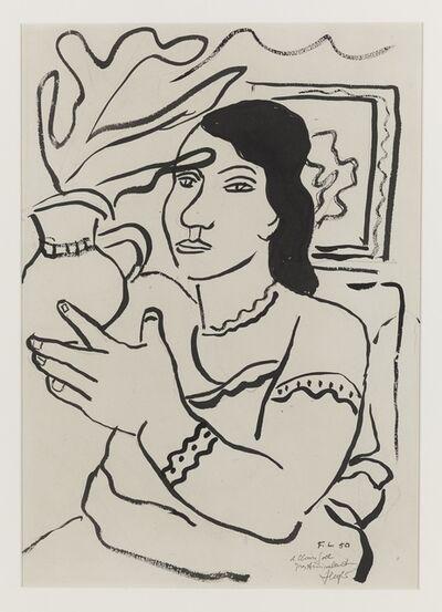 Fernand Léger, 'Jeune femme à la cruche', 1950