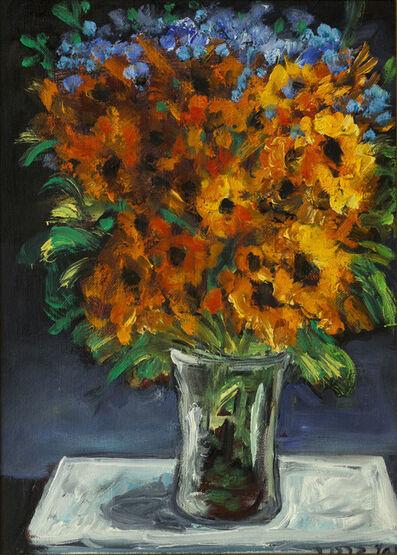 Yosl Bergner, 'Flowers in Vase', ca. 2000