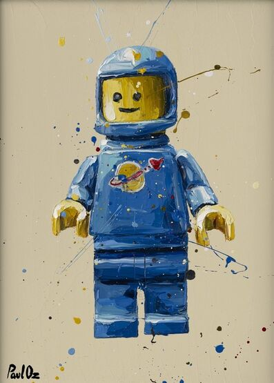 Paul Oz, 'Blue Lego', 2015
