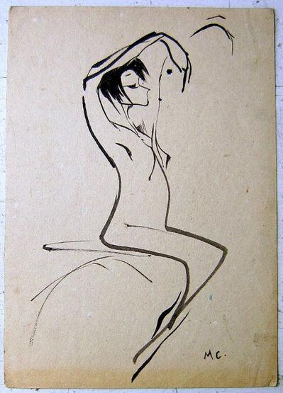 Miguel Covarrubias, 'Young nude', 1930