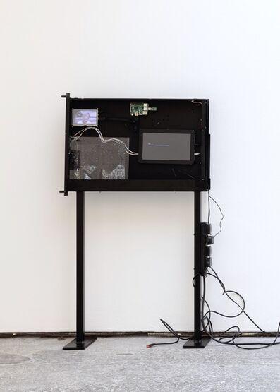 Cécile B. Evans, 'Black Box (Server Sleep)', 2015