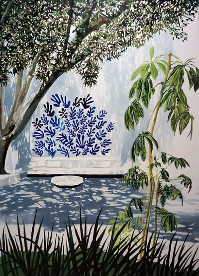 Eamon O'Kane, 'Blue Matisse in Quincy Jones Courtyard', 2019