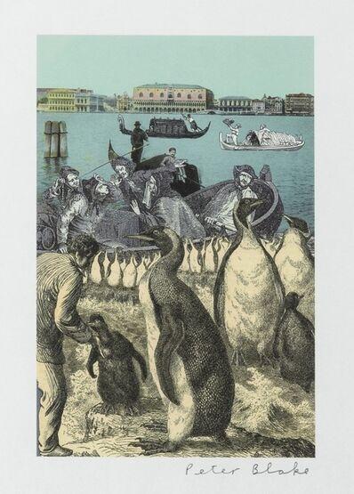 Peter Blake, 'Venice Penguins', 2009