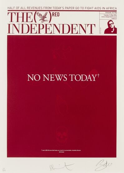 Damien Hirst, 'The Independent (RED)', 2007