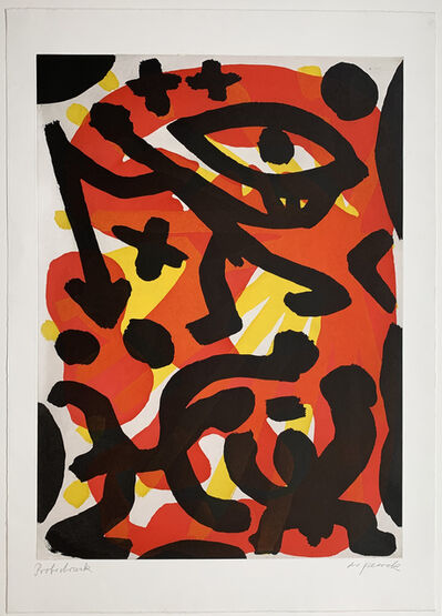 A.R. Penck, 'SIE', 1991