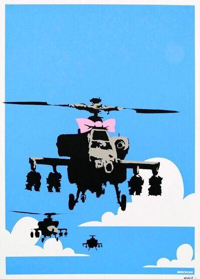 Banksy, 'Happy Chopper', 2003