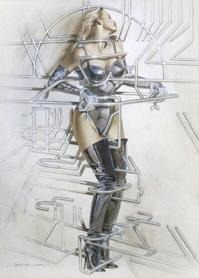 Hajime Sorayama, '2002.18', 2001
