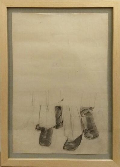 Miguel Angel Rojas, 'Me llaman Trinity y Nevada Smith - 2 (Boceto)', 1972