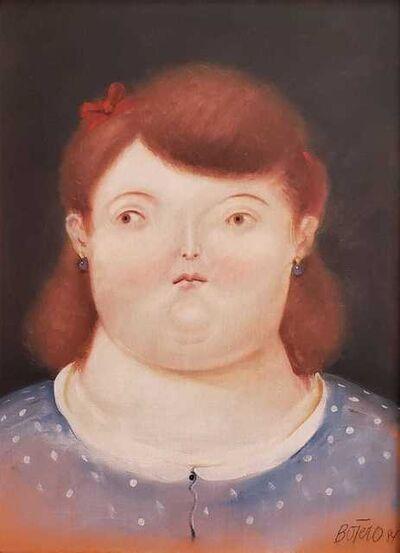 Fernando Botero, 'Retrato de Mujer ', 1984
