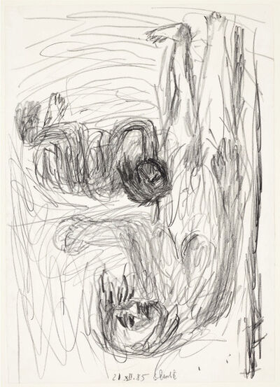 Georg Baselitz, 'Untitled (Mutter mit kind - Pastorale)', 1985