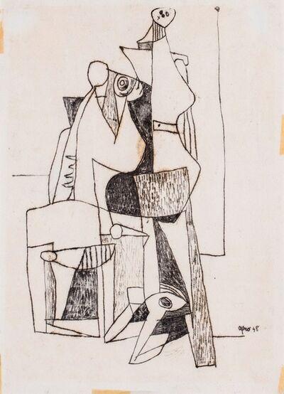 Afro (Afro Basaldella), 'Composition', 1948