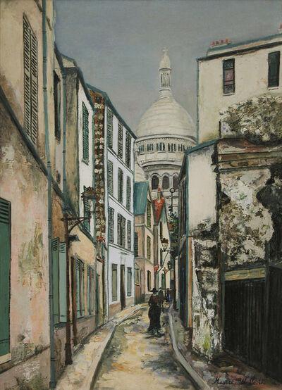 Maurice Utrillo, 'Sacre Coeur à rue Saint-Rustique', c. 1919