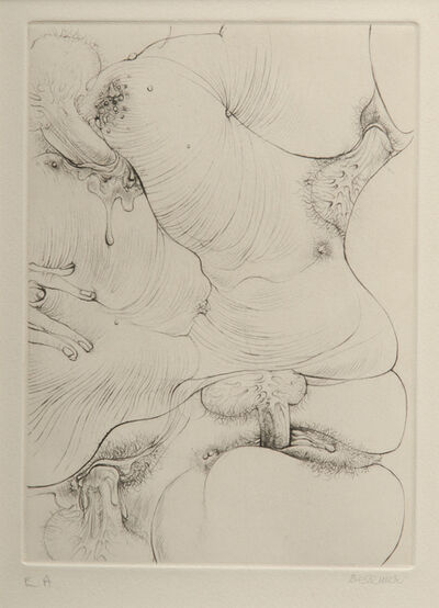 Hans Bellmer, 'A Sade #6', 1961