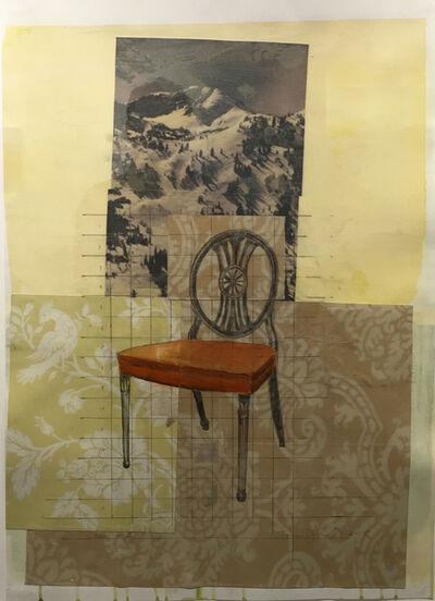 Tom Judd, 'Orange Chair'