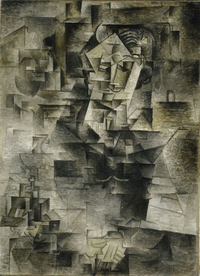 Pablo Picasso, 'Daniel-Henry Kahnweiler', 1910