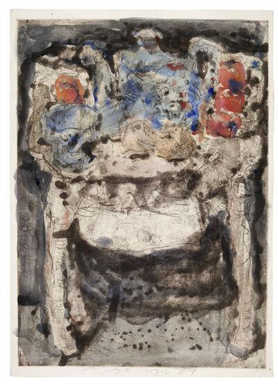 Marwan (Marwan Kassab-Bachi), 'Still life ', 1984