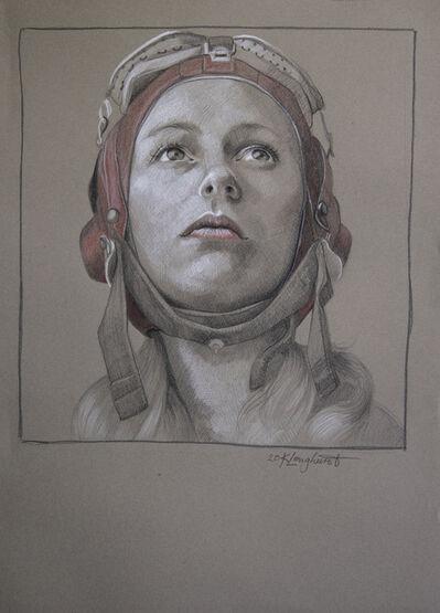Kathrin Longhurst, 'Pilot Girl 28', 2020