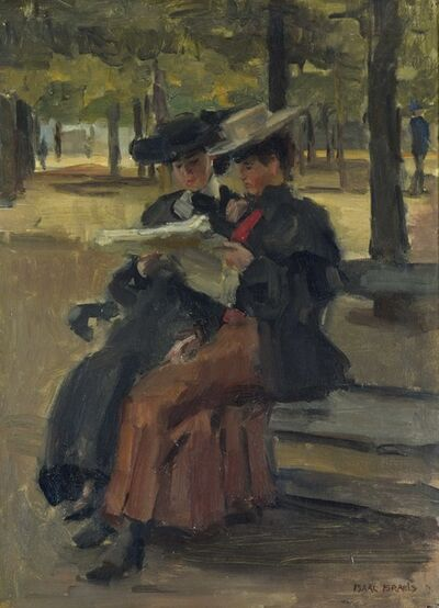 Isaac Israels, 'Bois de Boulogne', 1904