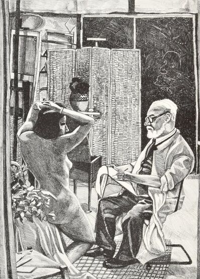 Red Grooms, 'Matisse', 1976