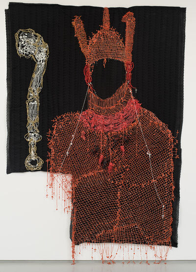 Victor Ehikhamenor, 'I am Ogiso, the King from Heaven', 2017
