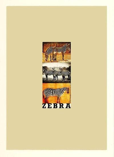 Peter Blake, 'Z is for Zebra', ca. 2020