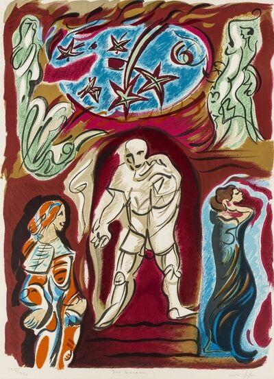 André Masson, 'Don Giovanni', 1977