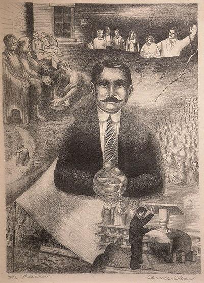 Carroll Cloar, 'The Preacher ', 1940