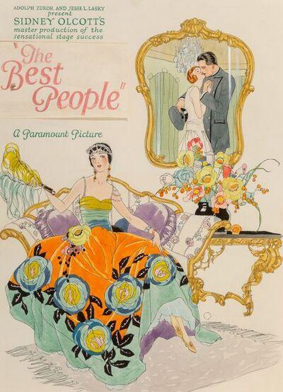 Alberto Vargas, 'The Best People, Original Promotional Movie Illustration', ca. 1925