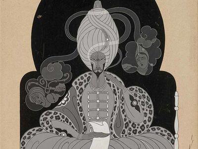 Erté (Romain de Tirtoff), 'There was a Ship - Pour la Pardie de (x-1929) - #1.641', 1929
