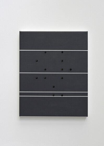 Kristina Matousch, 'Cover Hole, White Stripe', 2019