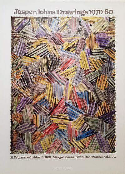 Jasper Johns, 'Jasper Johns Drawings 1970-80', 1981