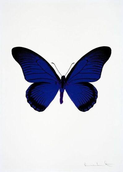 Damien Hirst, 'The Souls, IV (Westminster Blue/Raven Black/Imperial Purple)', 2010