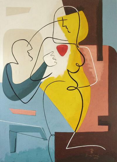 Bernard Simunovic, 'Two of Hearts', 2018