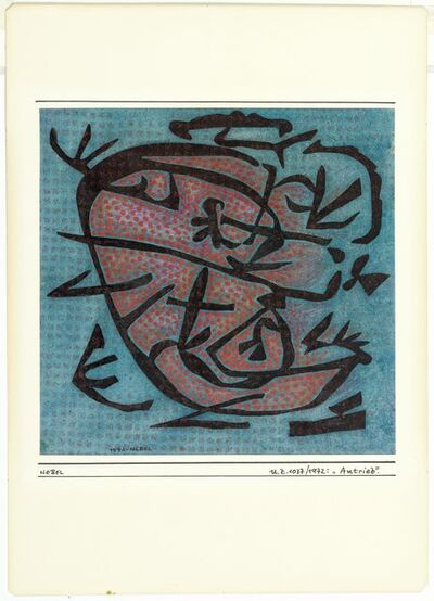 Otto Nebel, 'Antrieb', 1972