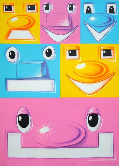 Kenny Scharf, 'Vertical Blockheads', 2016