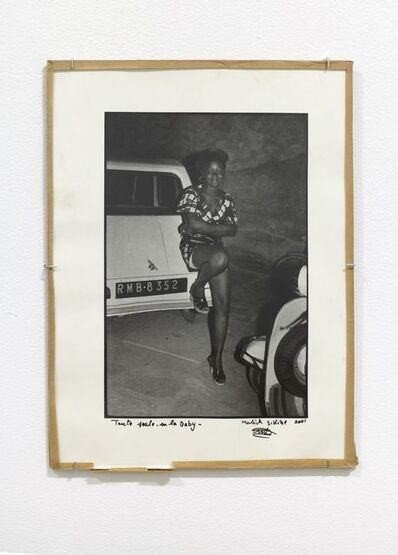 Malick Sidibé, 'Toute seule sur la baby', c. 1975-2001