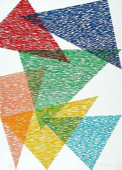 Piero Dorazio, 'Vis-A-Vis', 1991