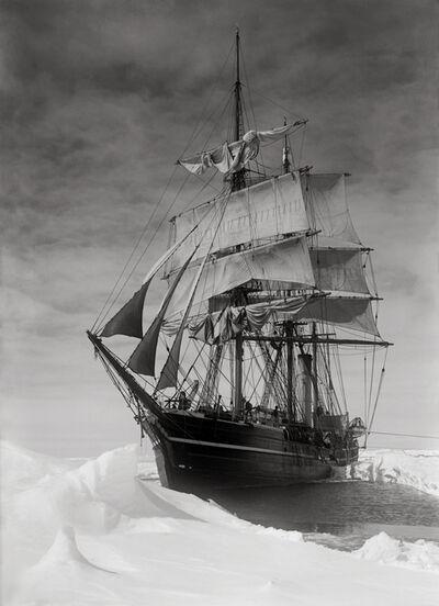 Herbert George Ponting, 'The Terra Nova Held Up in the Pack ', December 13th-1910