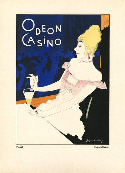 """Walter Schnackenberg, '""""Odeon Casino I"""", Kostume, Plakate und Decorationen', 1920"""
