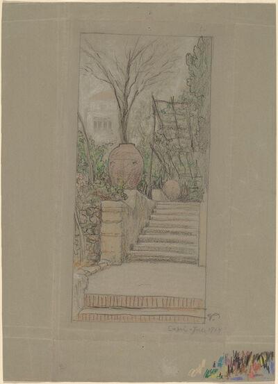 Elihu Vedder, 'Capri', 1914