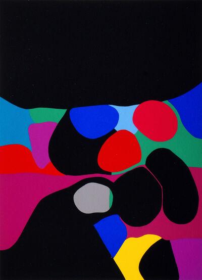 Alberto Burri, 'Trittico A - Travola 1-3 (three works)', 1973-1976